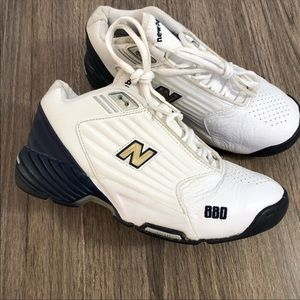 🔆New Balance Sneakers White Blue 7.5